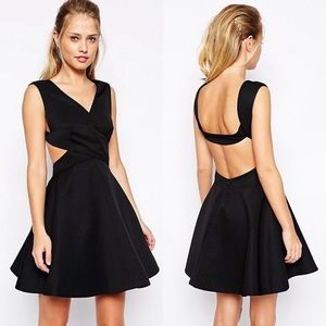 Finders Keepers Glory of Love skater dress